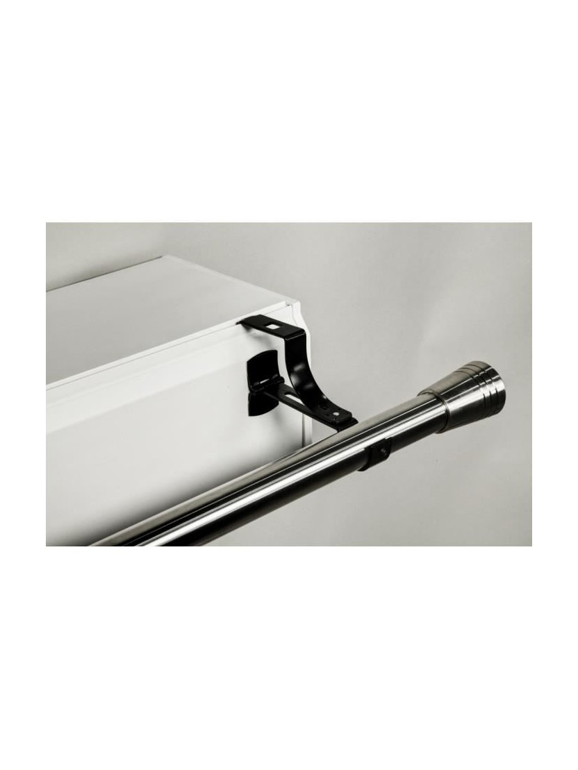 Barres À Rideaux Pose Sans Perçage 2 supports sans perÇage pour tringle À rideaux Ø 20mm - noozika