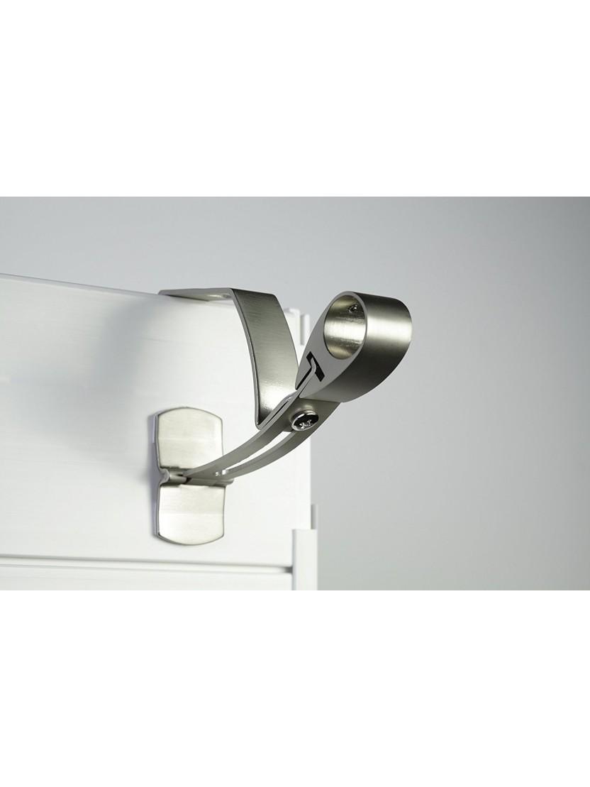 Barres À Rideaux Pose Sans Perçage support sans perÇage pour tringle À rideaux Ø 28mm - noozika